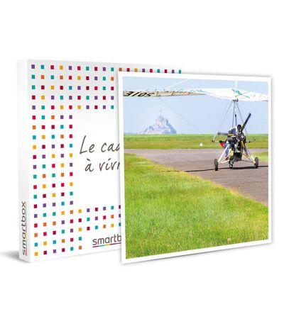 SMARTBOX - Survol du Mont Saint-Michel en ULM - Coffret Cadeau Sport & Aventure