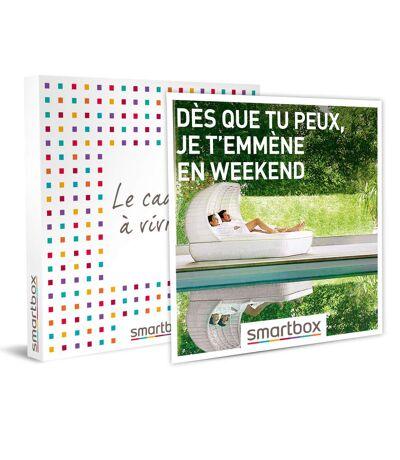 SMARTBOX - Dès que tu peux, je t'emmène en weekend - Coffret Cadeau Séjour