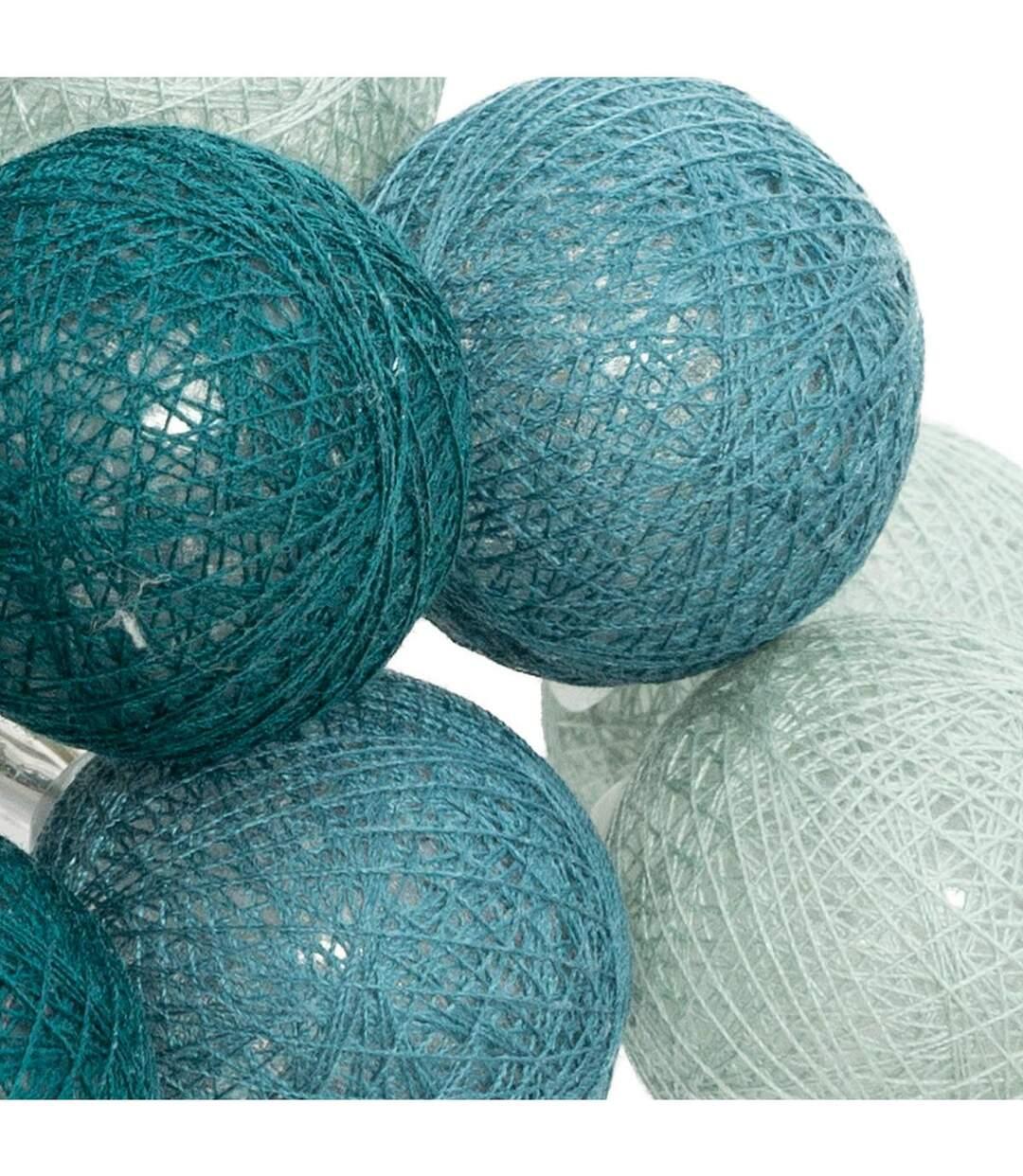 Atmosphera - Guirlande décorative lumineuse Palm 16 boules LED D 3.5 cm et L 261 cm