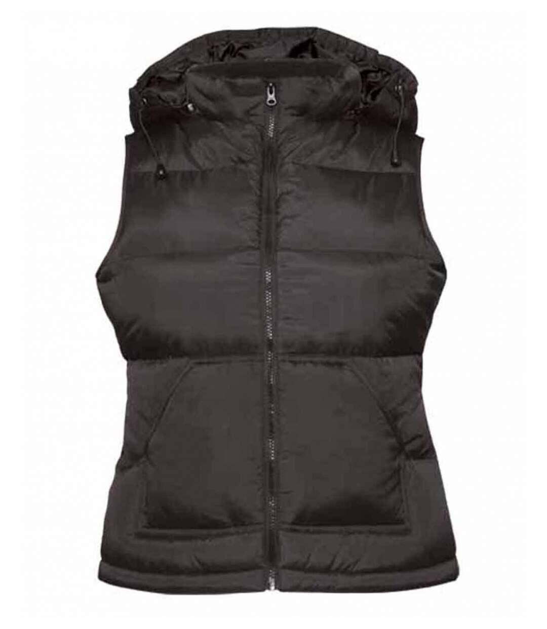 Doudoune femme sans manches - Bodywarmer JW935 - noir