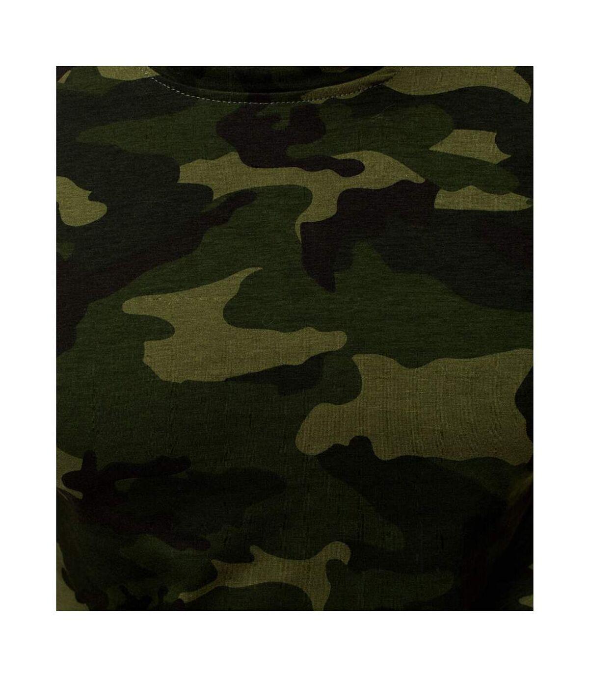 T-shirt camouflage homme T-shirt M807 vert