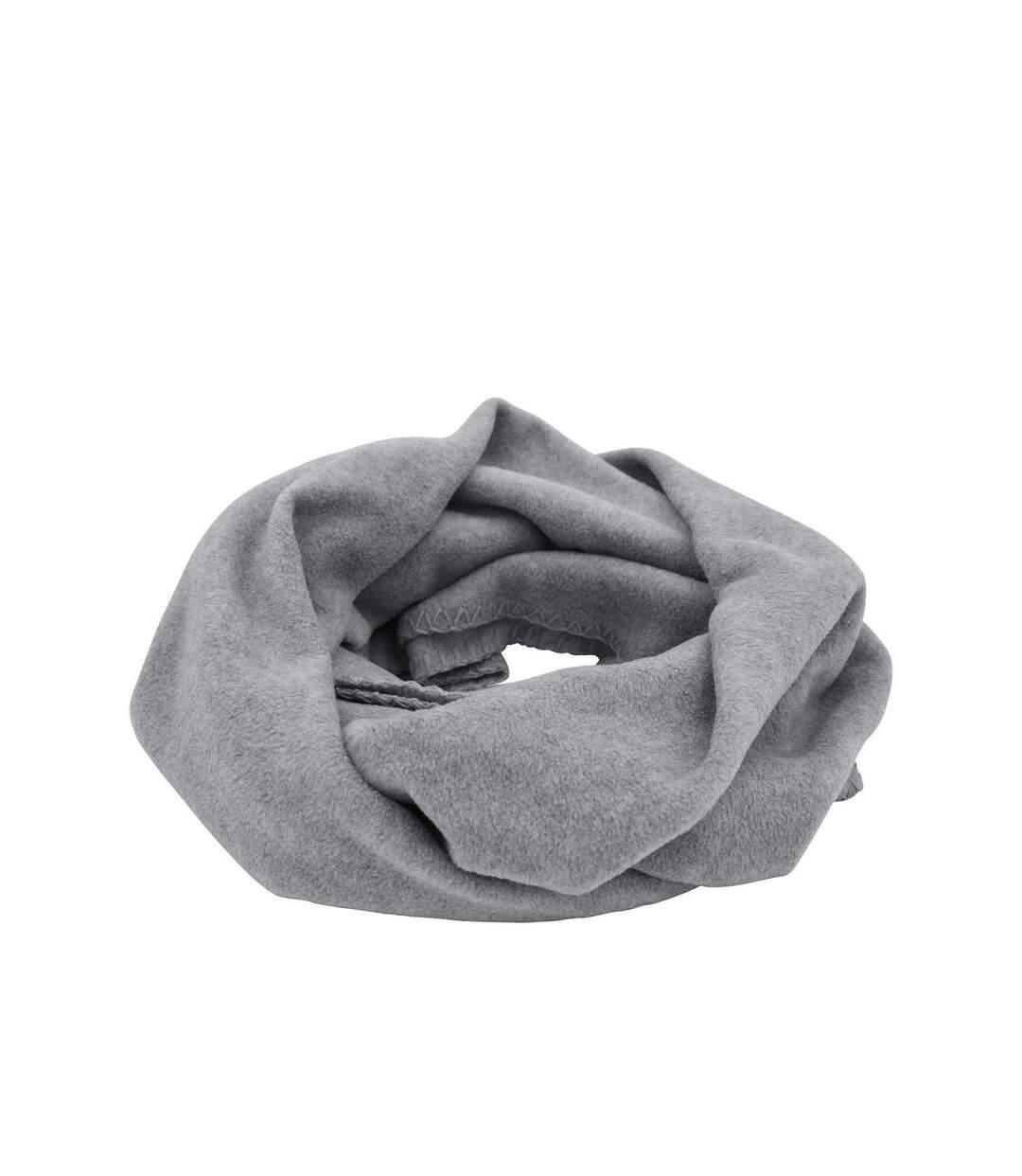 Echarpe - Tour de cou polaire adulte - Taille unique - MB7313 - gris clair