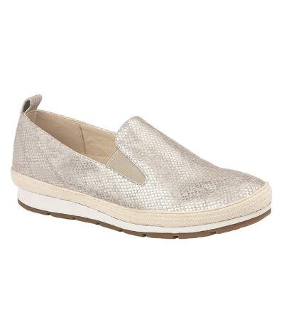 Cipriata - Chaussures LUCA - Femme (Écailles argentées) - UTDF1559