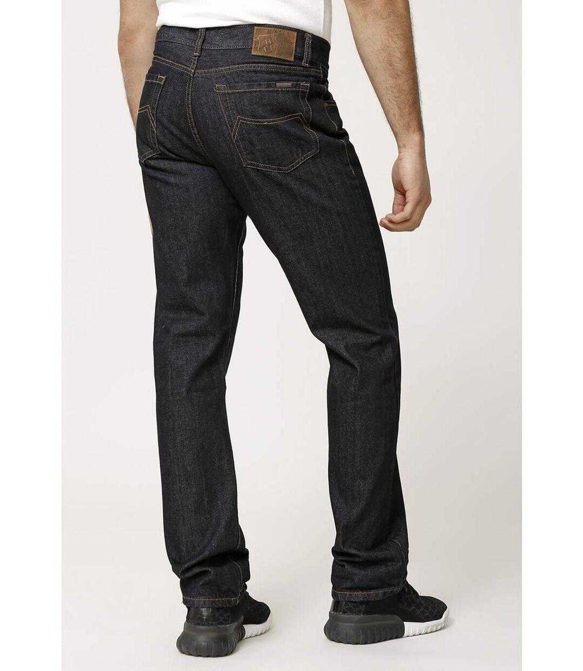 Jeans coton coupe confort brut denim
