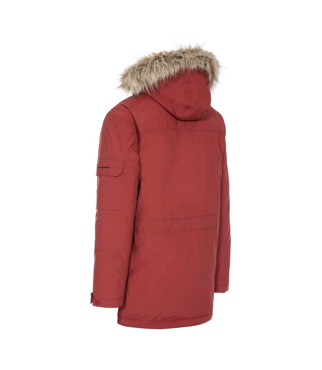 Trespass Mens Highland Waterproof Parka Jacket (Black) - UTTP1304