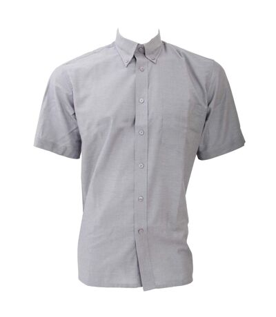 Dickies Short Sleeve Cotton/Polyester Oxford Shirt / Mens Shirts (Light Blue) - UTBC297