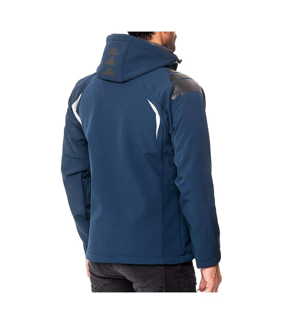 Veste softshell Geographical Norway Veste Techno bleu marine