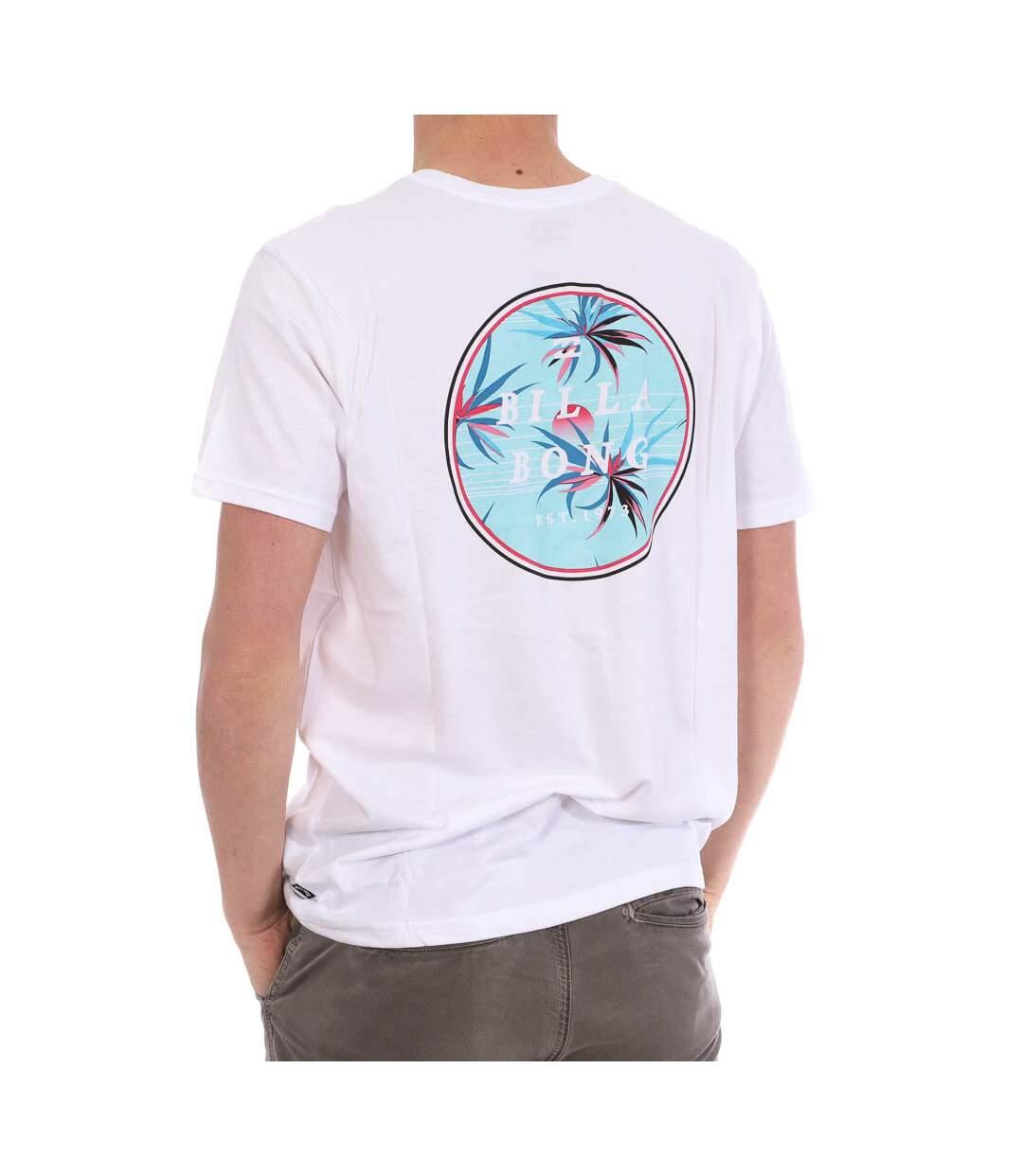 T-shirt Blanc Homme Billabong Rotor