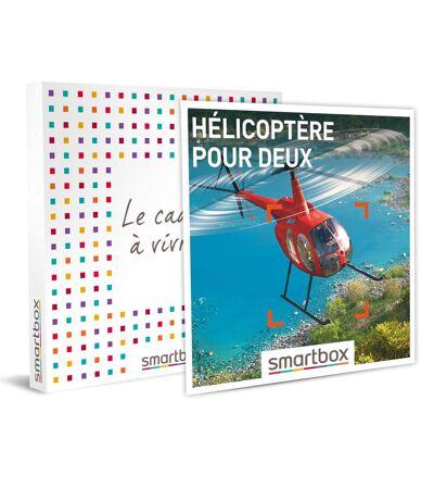 SMARTBOX - Hélicoptère pour deux - Coffret Cadeau Sport & Aventure