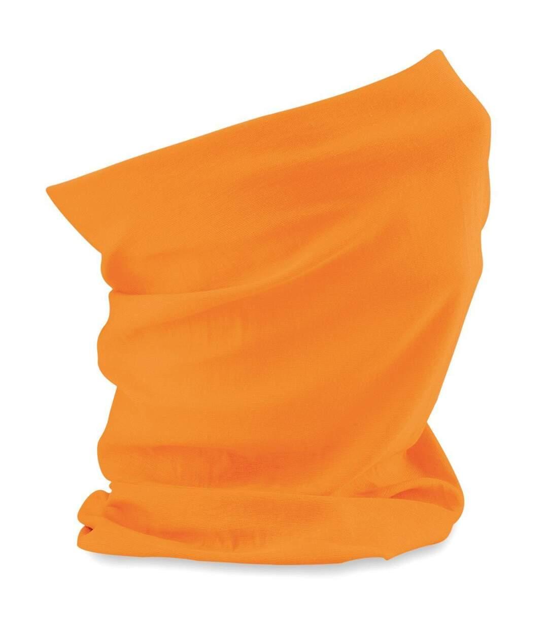 Echarpe tubulaire - tour de cou adulte - B900 - orange fluo