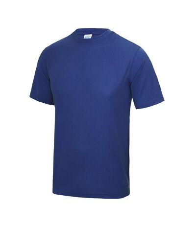 AWDis Just Cool Mens Performance Plain T-Shirt (Sapphire Blue) - UTRW683