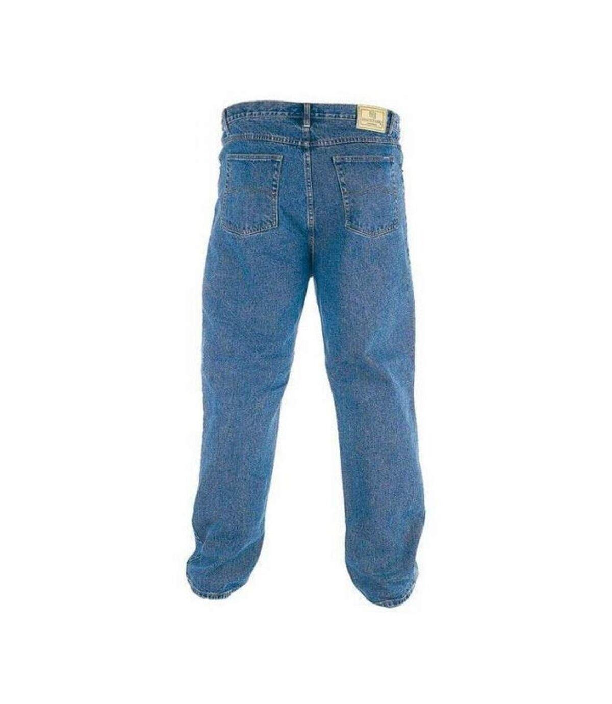 Duke Mens Rockford Tall Comfort Fit Jeans (Stonewash) - UTDC161