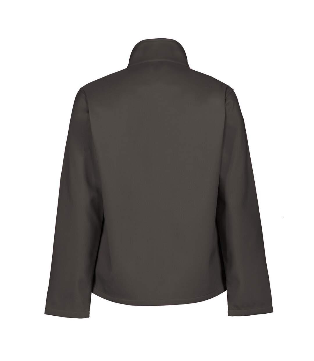 Regatta Mens Ablaze Printable Softshell Jacket (Seal Grey/Black) - UTRG3560