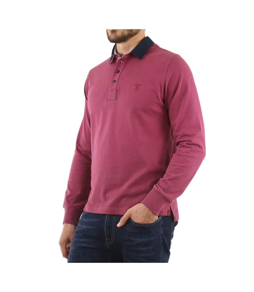 Polo style rugby Rose SESTINO