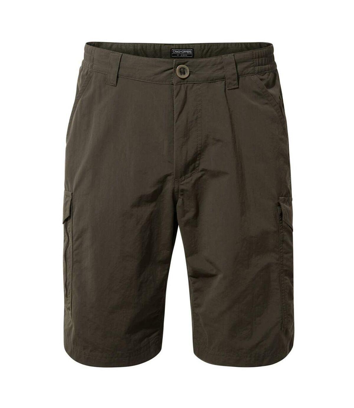Craghoppers Mens NosiLife Cargo II Shorts (Woodland Green) - UTCG1117