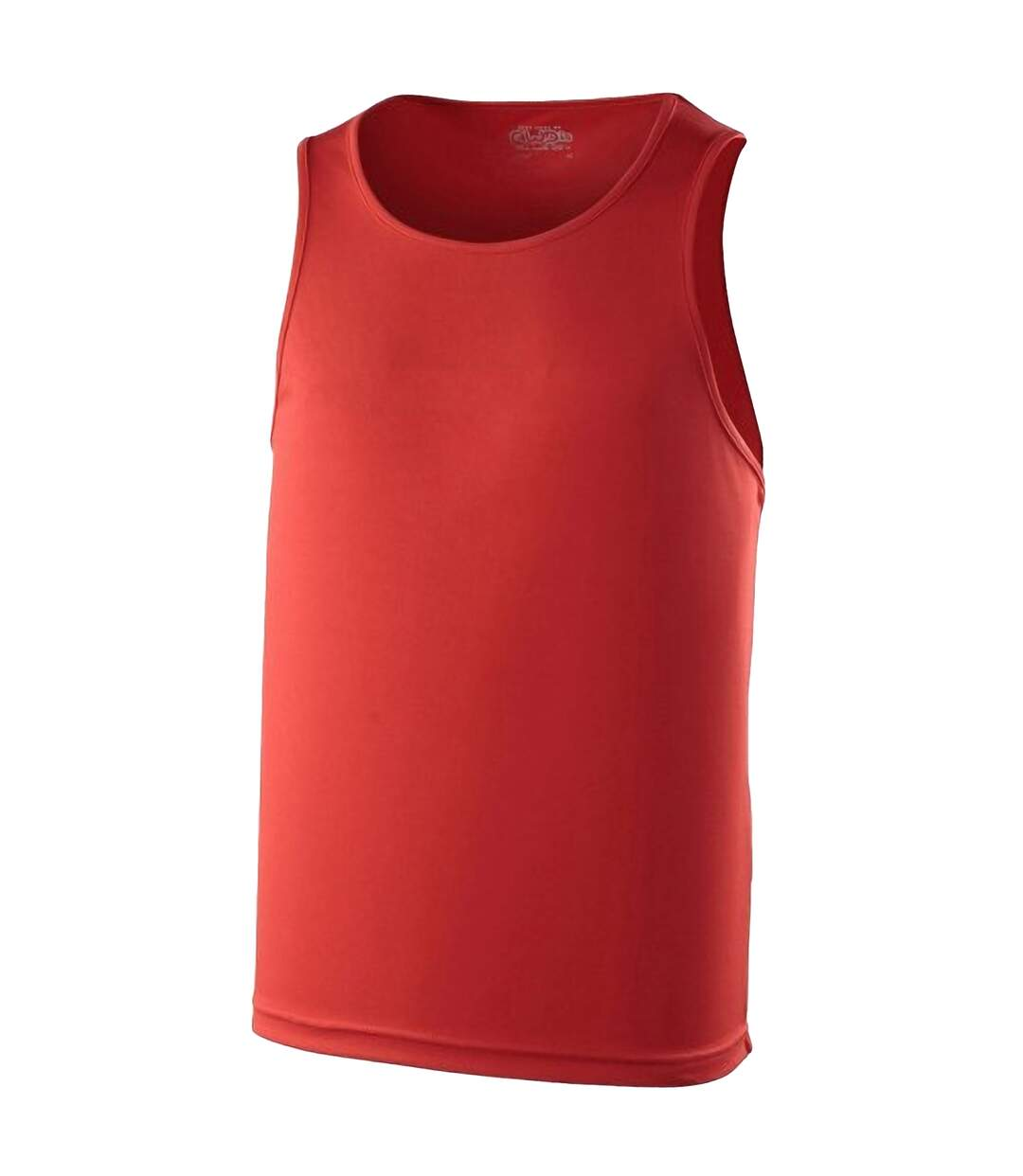 Just Cool Mens Sports Gym Plain Tank / Vest Top (Jet Black) - UTRW687