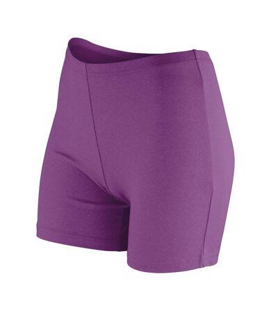 Spiro Softex - Short de sport stretch - Femme (Gris clair) - UTRW5172