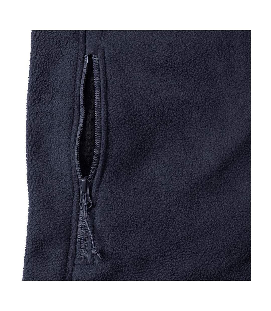 Russell Jerzees Colours - Veste polaire à fermeture zippée - Homme (Bleu marine) - UTBC575