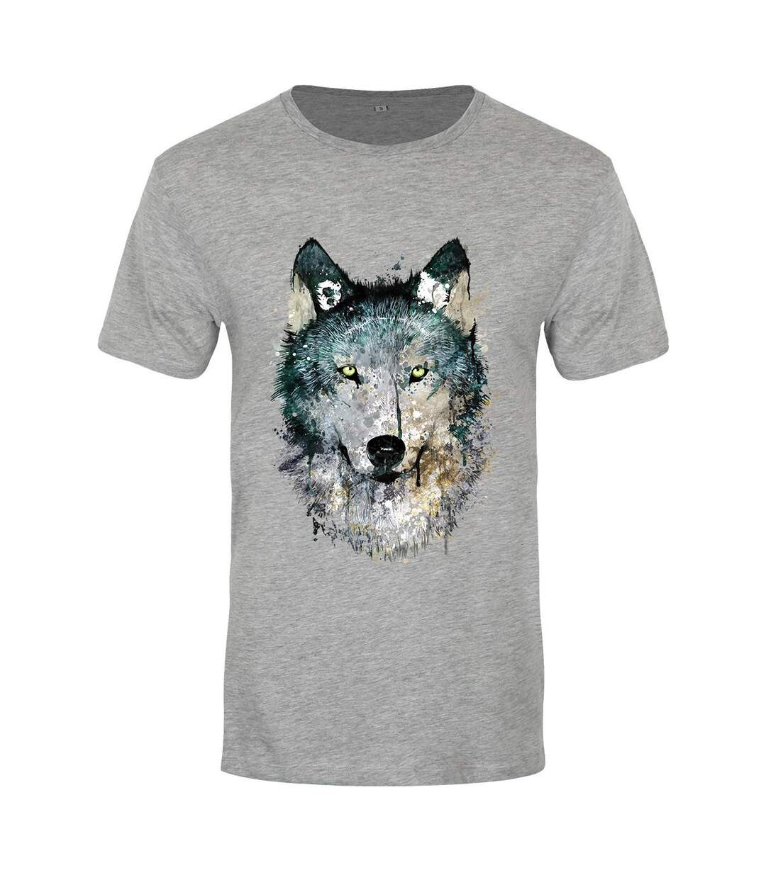 Unorthodox Collective Mens Alpha Premium Heather T-Shirt (Grey) - UTGR107