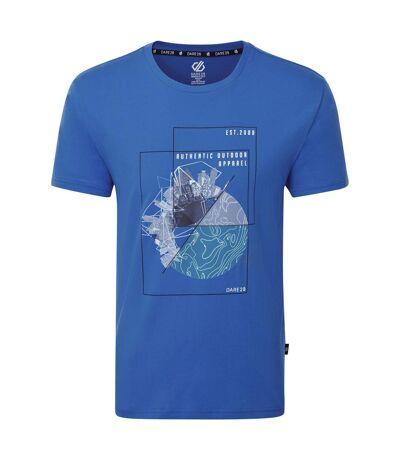 Dare 2B Mens Stringent Graphic T-Shirt (Olympian Blue) - UTRG5022