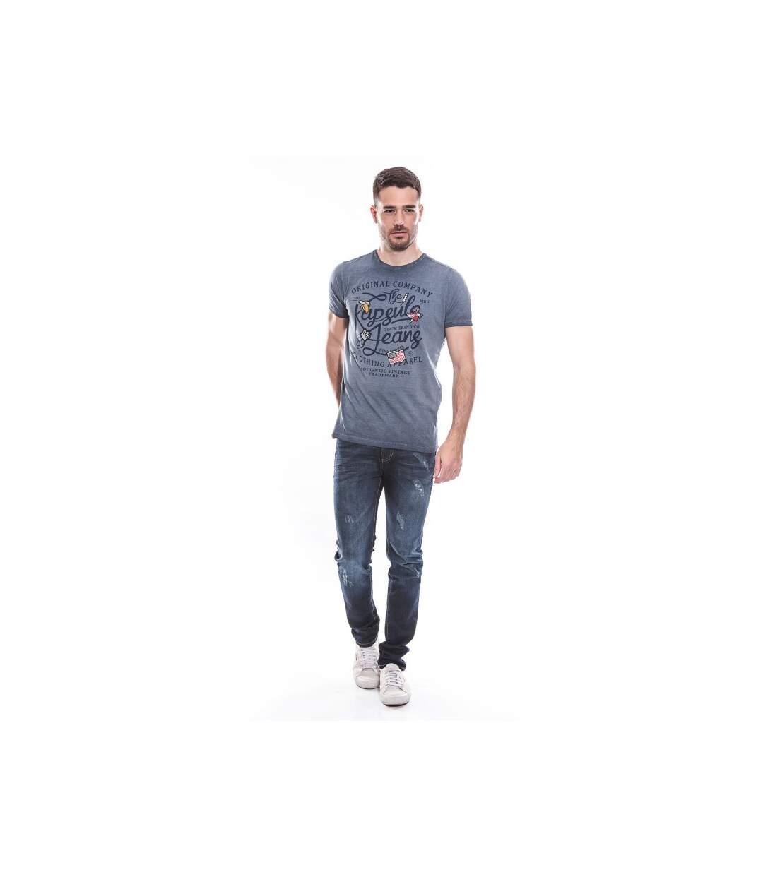T-shirt col rond coton KJ-MODOU - KAPSULE