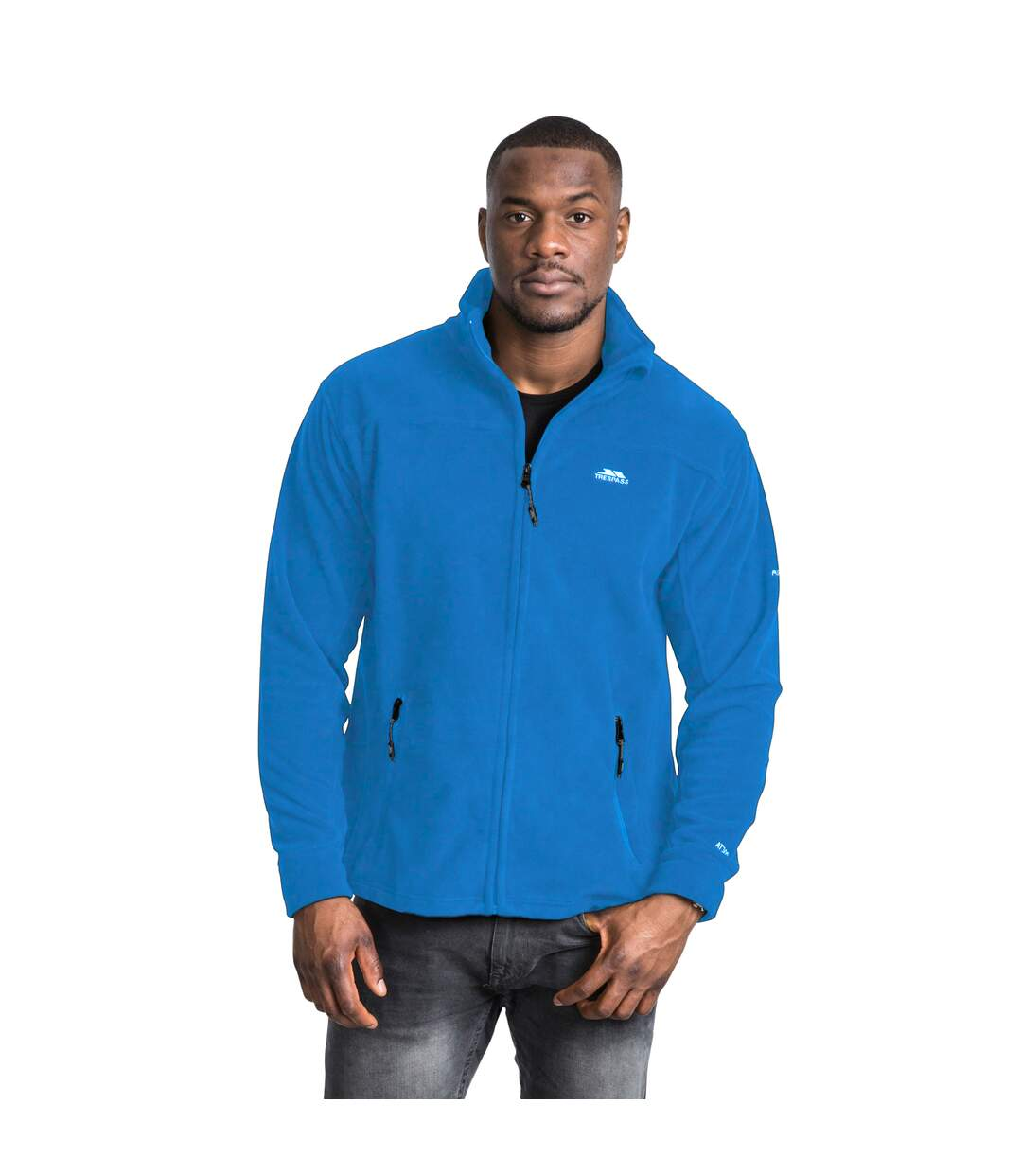 Trespass Mens Bernal Full Zip Fleece Jacket (Red) - UTTP254