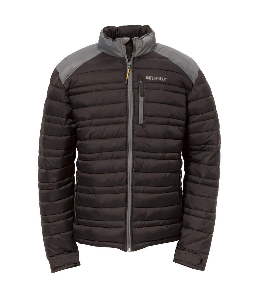 Caterpillar Mens Defender Insulated Zip Up Jacket (Black) - UTFS4023