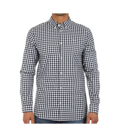 Chemise Marine/Blanche Homme Tommy Jeans Gingham