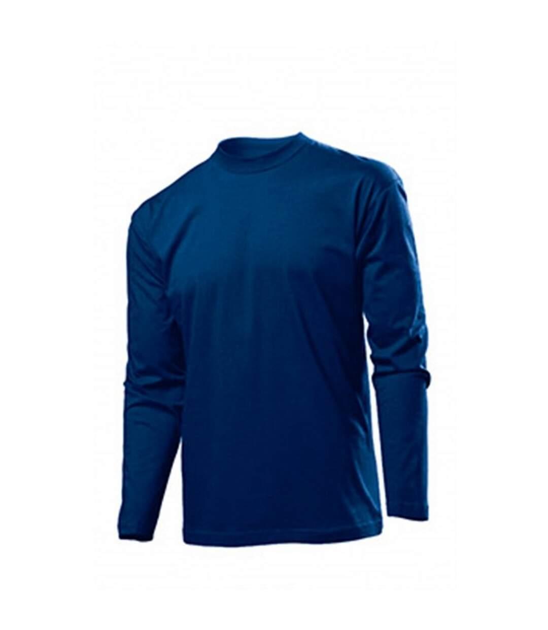 Stedman Mens Classic Long Sleeved Tee (Blue Midnight) - UTAB277