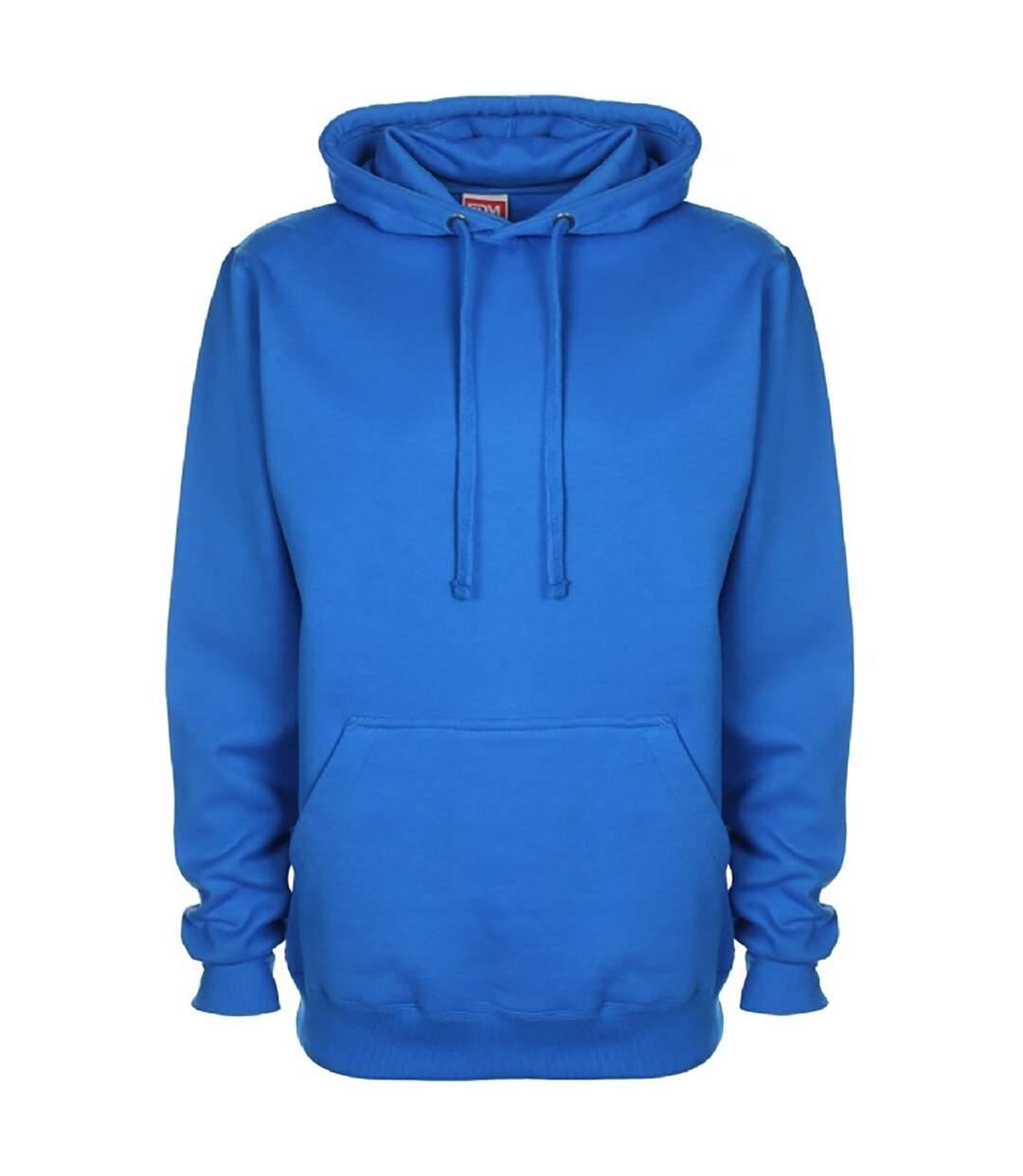 FDM Unisex Plain Original Hooded Sweatshirt / Hoodie (300 GSM) (Sapphire) - UTBC2024