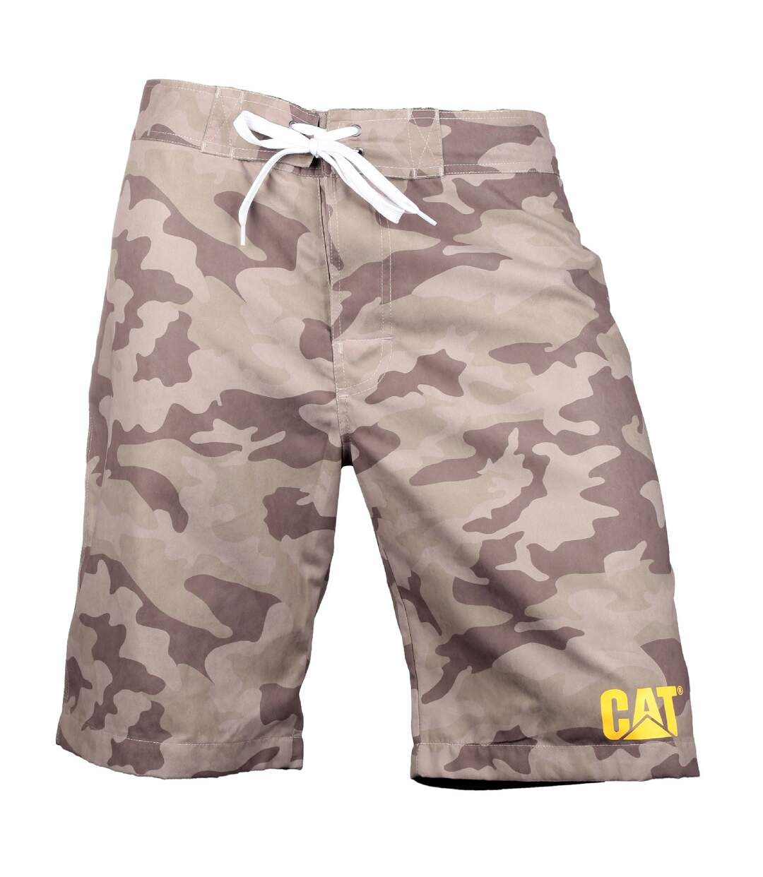 CAT Lifestyle Mens C2820967 Logo Drawstring Board Shorts (Camouflage) - UTFS3758