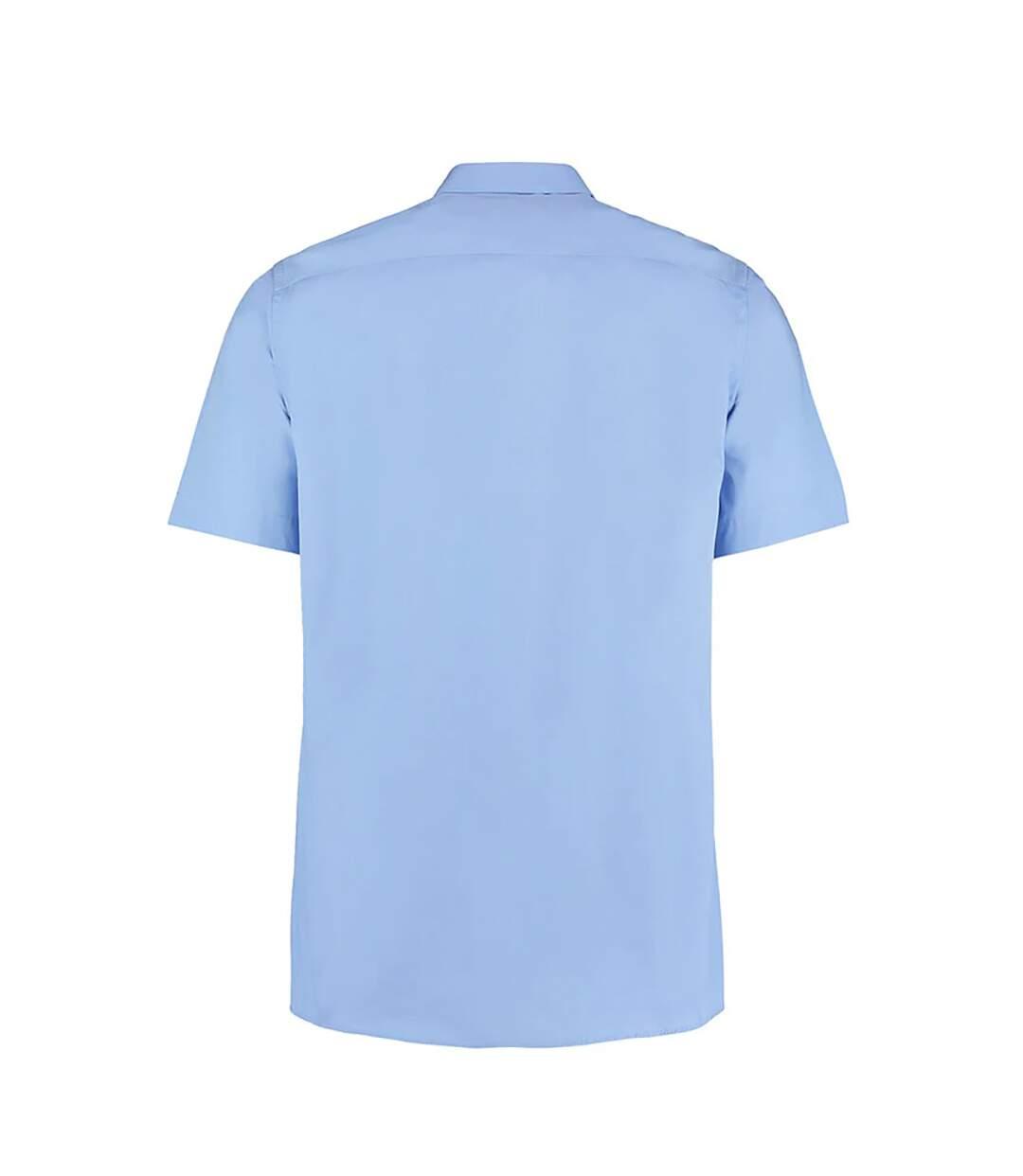 Kustom Kit Mens City Short Sleeve Business Shirt (Black) - UTBC1448