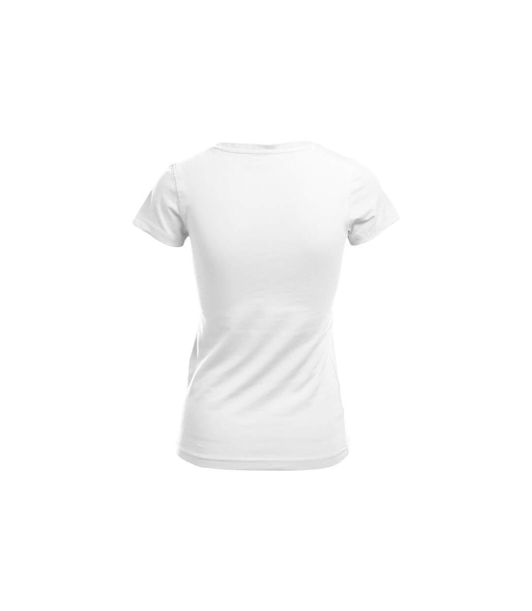 Dégagement T-shirt slim col V Femmes dsf.d455nksdKLFHG