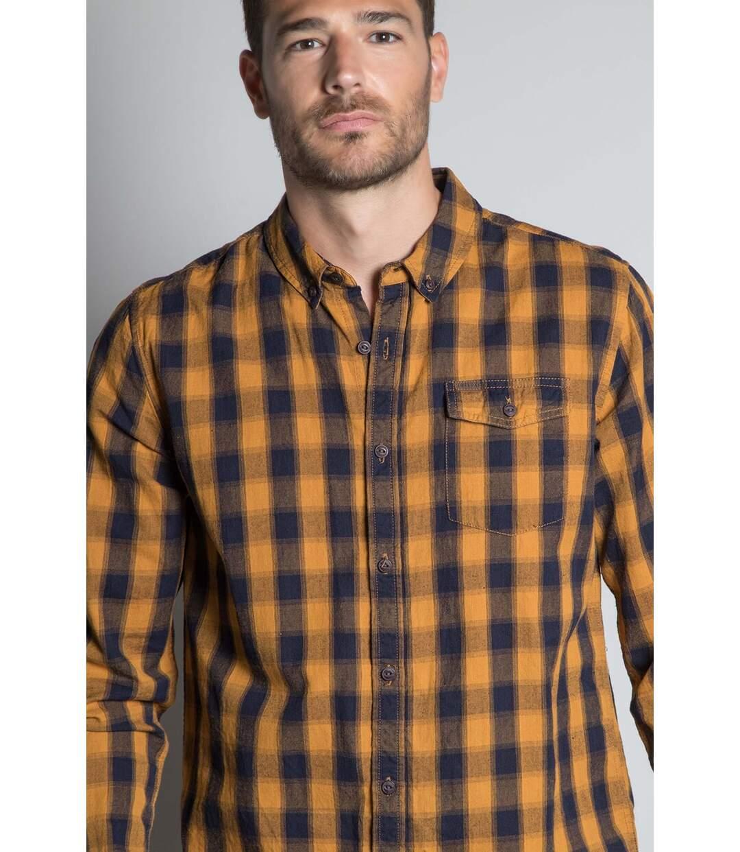 Chemise à carreaux PIETER Honey
