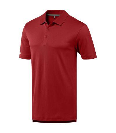 Adidas Mens Performance Polo Shirt (Collegiate Red) - UTRW6133
