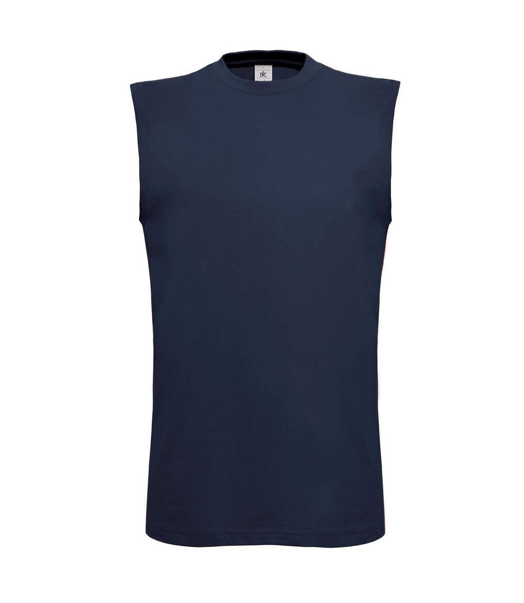 B&C Mens Exact Move Athletic Sleeveless Sports Vest Top (Navy) - UTRW3502