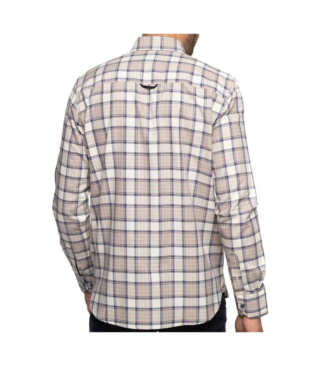 Chemise à carreaux manches longues ALASKA
