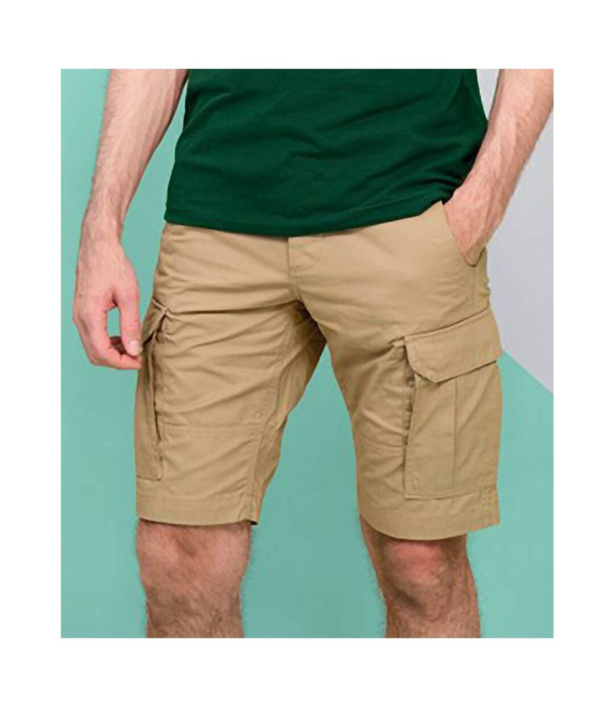 SOLS Mens Jackson Bermuda Shorts (Chestnut) - UTPC2824