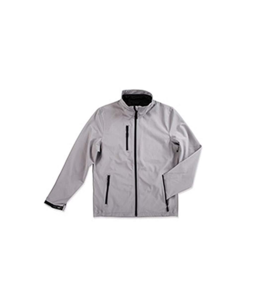 Stedman - Softshell Imperméable Active - Homme (Gris pâle) - UTAB307