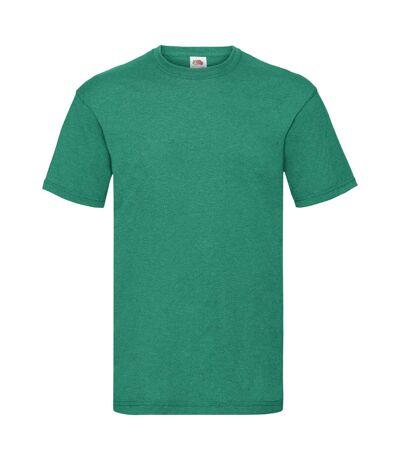 Fruit Of The Loom - T-shirt manches courtes - Homme (Bleu roi chiné) - UTBC330