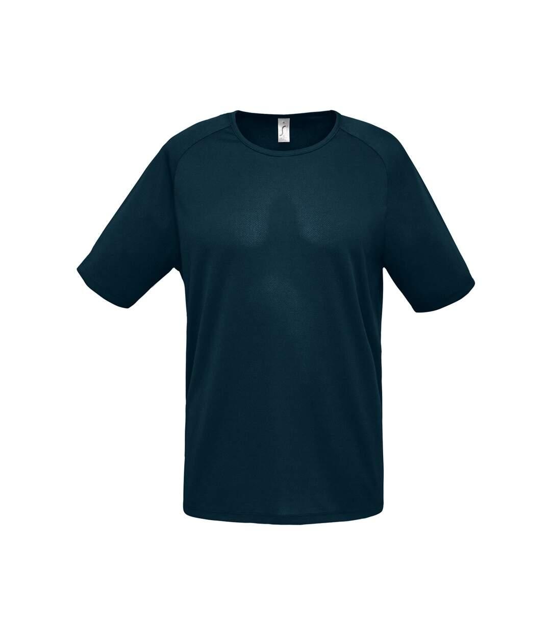 SOLS Mens Sporty Short Sleeve Performance T-Shirt (Petroleum Blue) - UTPC303