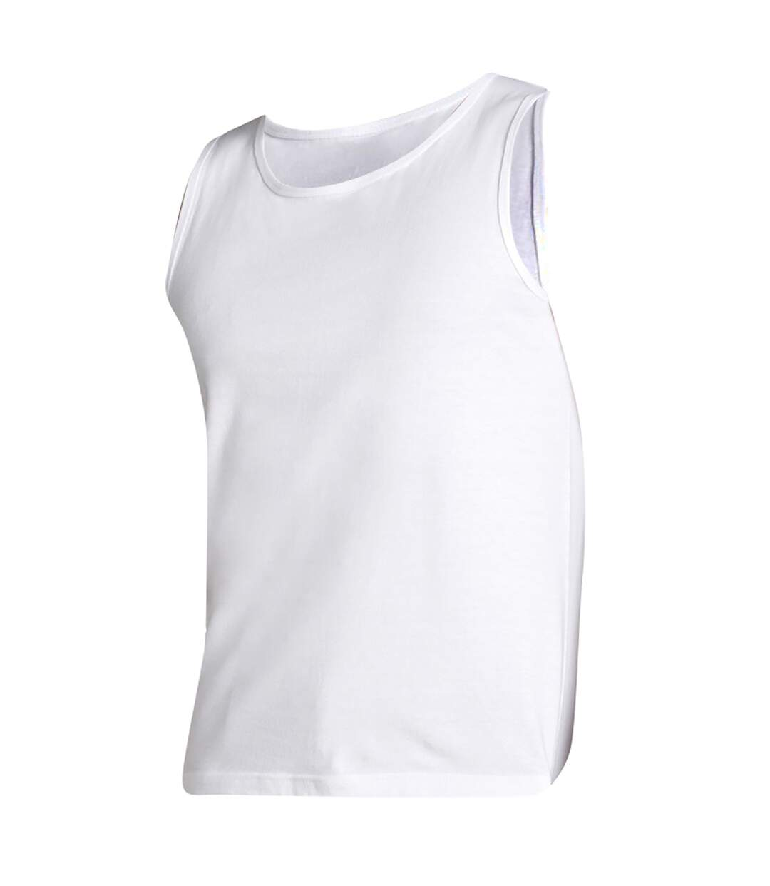 SOLS Mens Justin Sleeveless Tank / Vest Top (White) - UTPC312