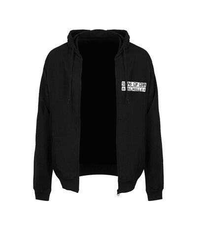 Grindstore Mens Sons Of Odin Full Zip Hoodie (Black/White) - UTGR3372