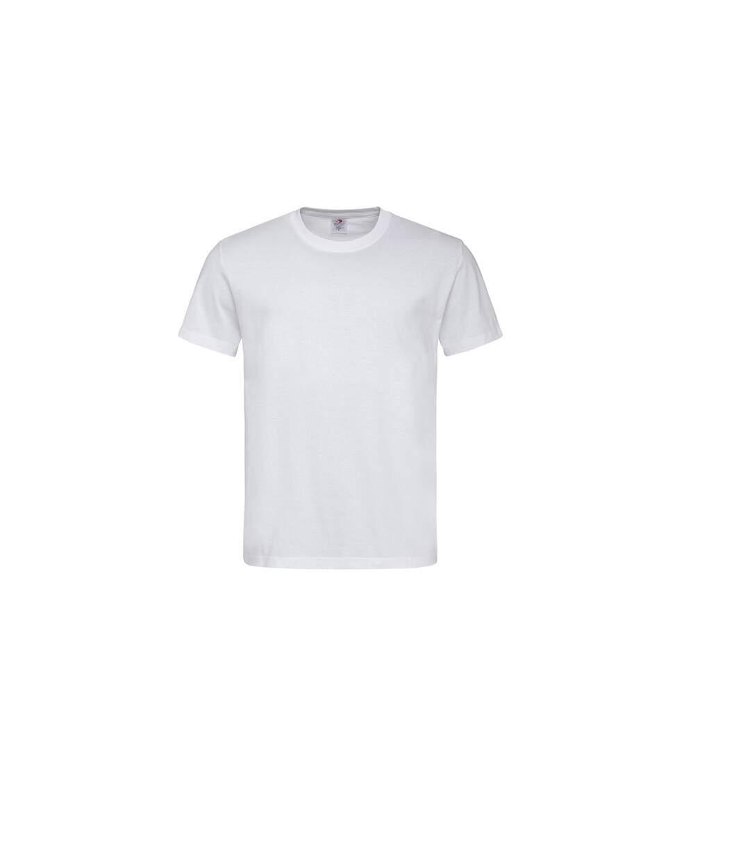 Stedman Mens Classic Tee (White) - UTAB269