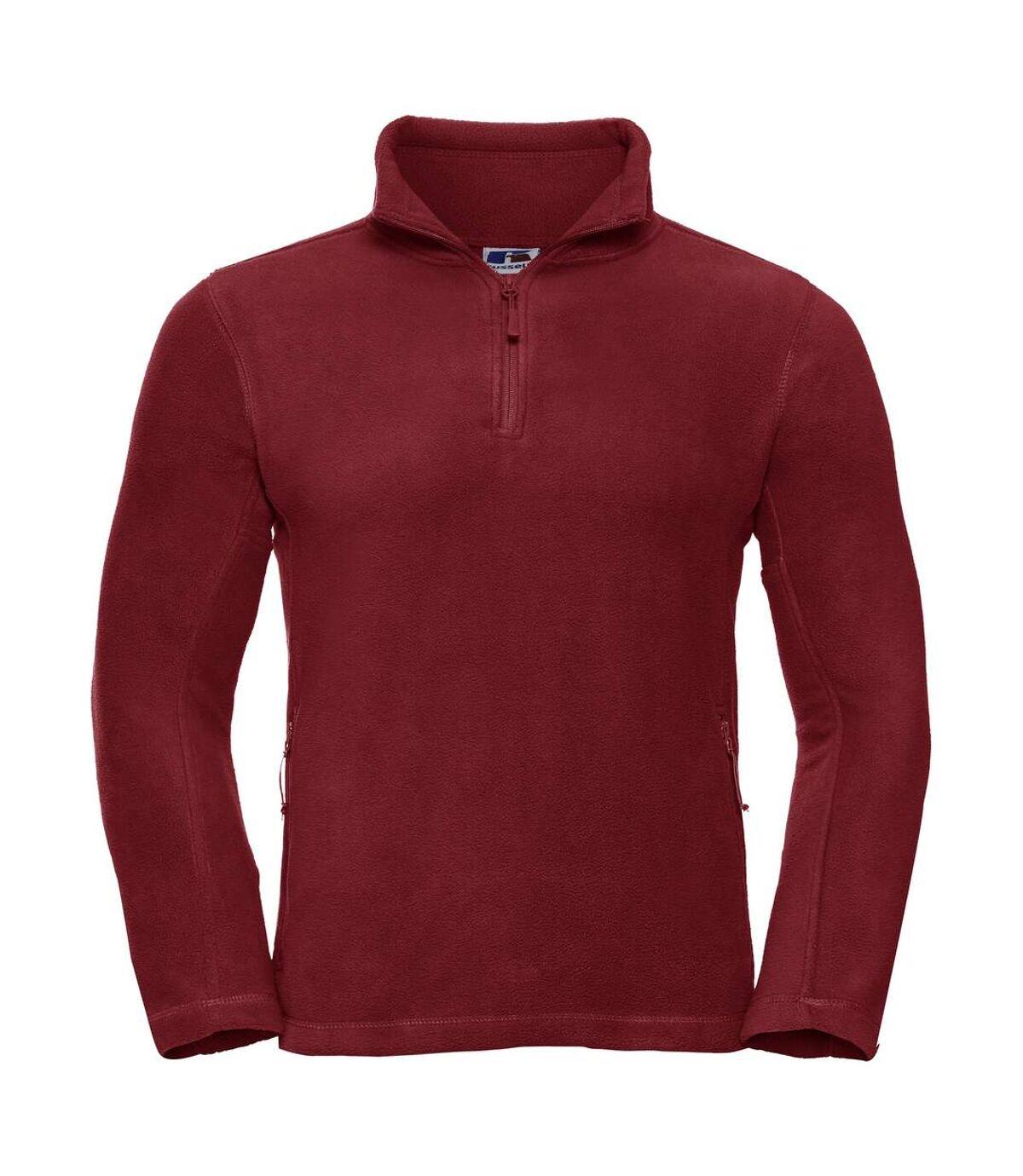 Russell - Polaire à fermeture zippée - Homme (Rouge) - UTBC1438