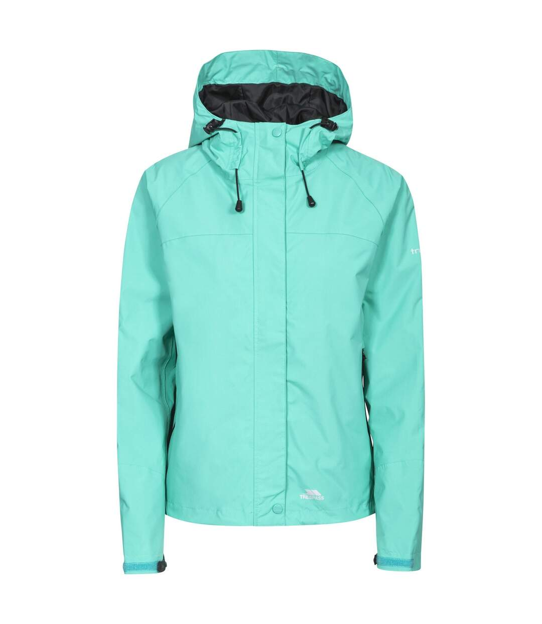 Trespass Womens/Ladies Miyake Hooded Waterproof Jacket (Lagoon) - UTTP165