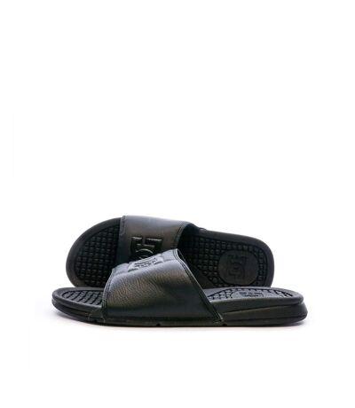 Claquettes Noires Homme DC Shoes Bolsa