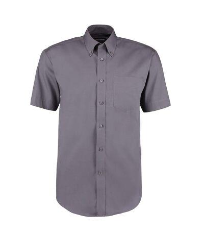 Kustom Kit Mens Short Sleeve Corporate Oxford Shirt (Light Blue) - UTBC595