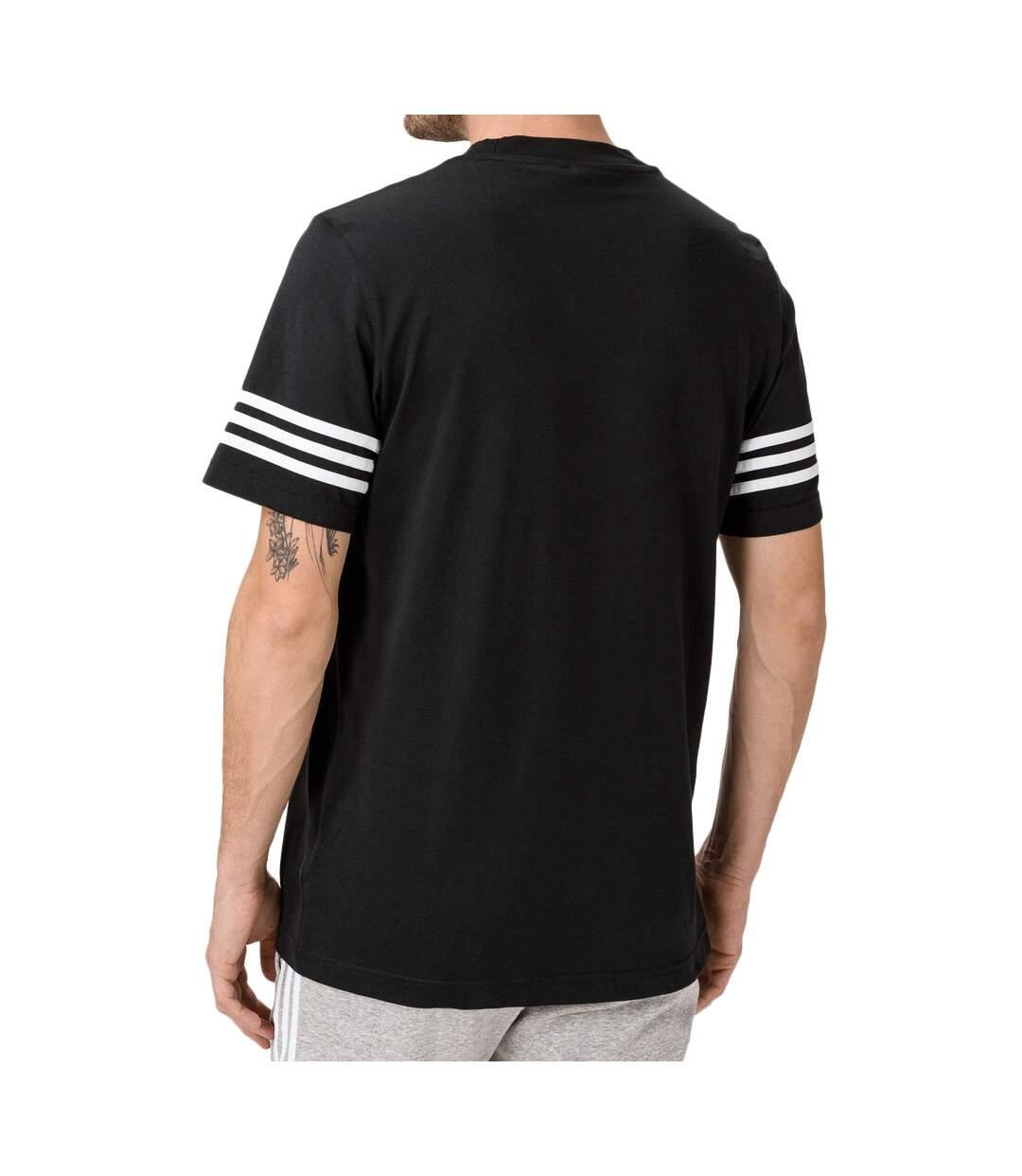 T-Shirt noir homme Adidas Outline Tee