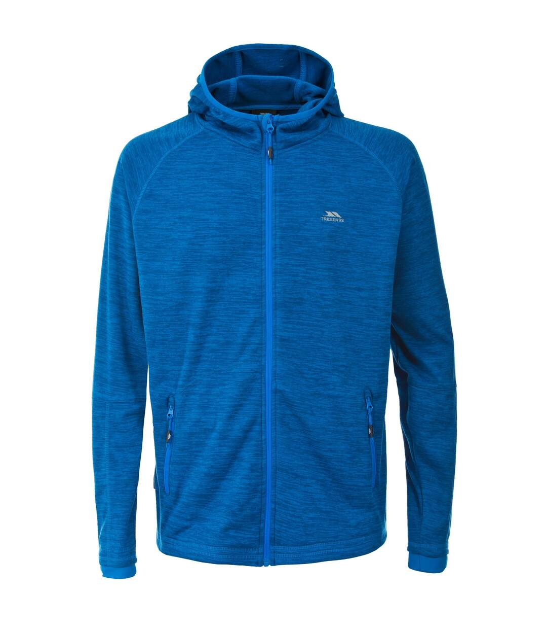 Trespass Mens Northwood Fleece Jacket (Bright Blue Marl) - UTTP4375